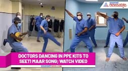 Doctors dance to Salman Khan's Radhe song 'Seeti Maar' (Watch Viral Video) - gps