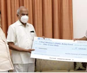 tamil nadu governor banwarilal purohit donate rs 1 crore to cm relief fund for covid