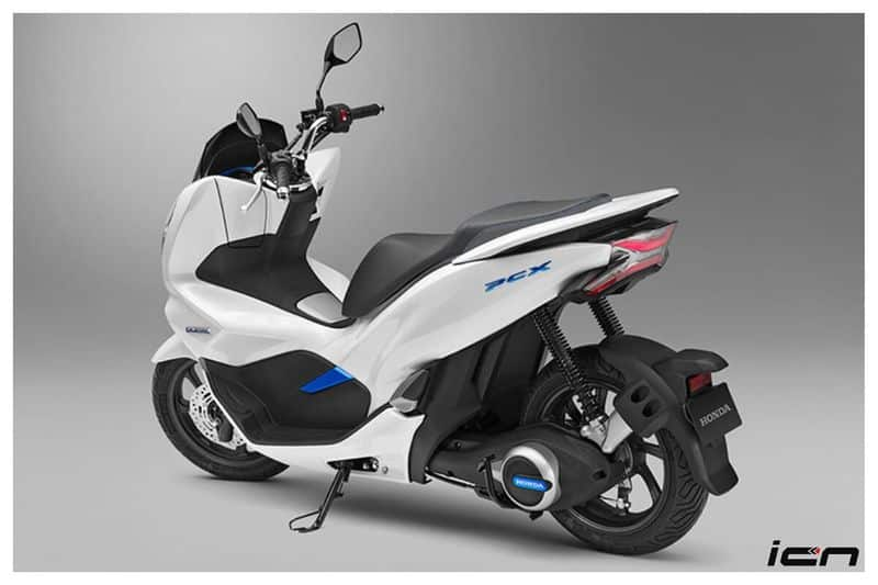 Honda PCX electric scooter India spec patent registered