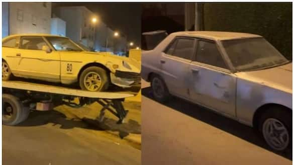 drivers arrested and vehicles seized for reckless driving in Kuwait