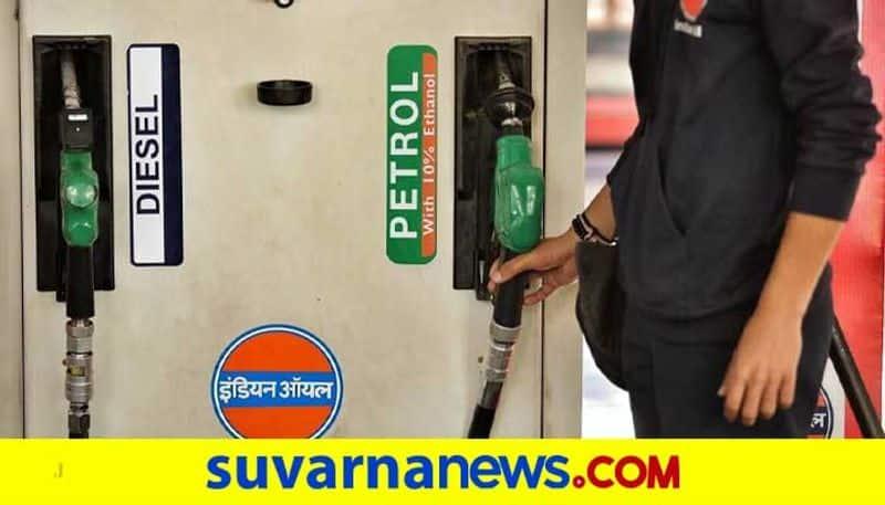 Petrol Price Crossed 100 rs in Shivamogga grg