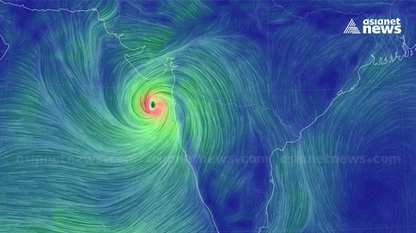 tauktae cyclone to hit Gujarat Monday night caution advised