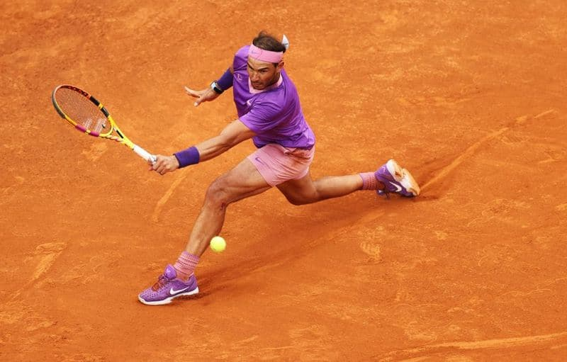 Rafael Nadal into the Semi Finals of  French Open