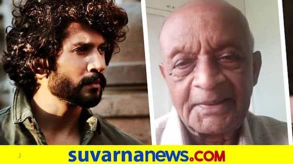 Kannada actor Bhuvann Ponnannaa lends a helping hand to Veteran actor Amarnath Aradhya vcs