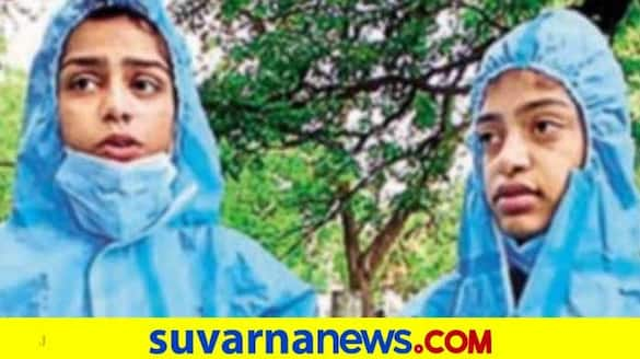 2 girls give Covid victims a dignified farewell in Bengaluru snr