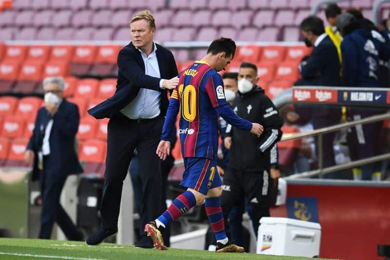 impossible to play without Lionel Messi says Barcelona Coach Ronald Koeman