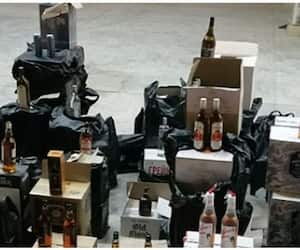 over 1000 bottles of alcohol seized in Oman