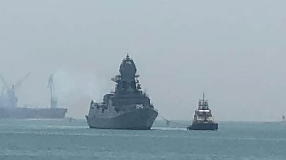 Cyclone Tauktae Navy rushes warships rescue barges off Mumbai -VPN