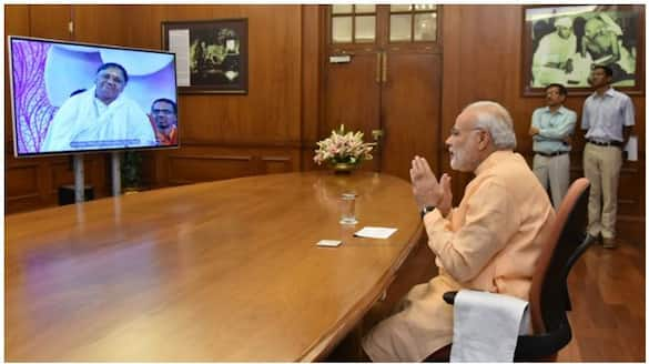 PM interacts with Group of Doctors from across the country to discuss Covid situation