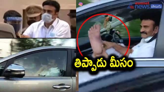 MP Raghu Rama Krishnam Raju Out From Jail, Twirls His Moustache