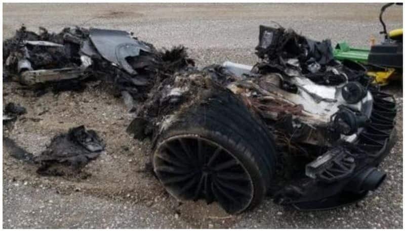 Charred 2021 McLaren GT for sale priced 1.5 crore