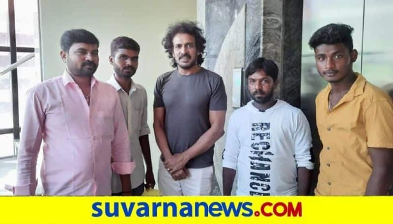 sandalwood Actor Upendra bought vegetables from Farmers  snr