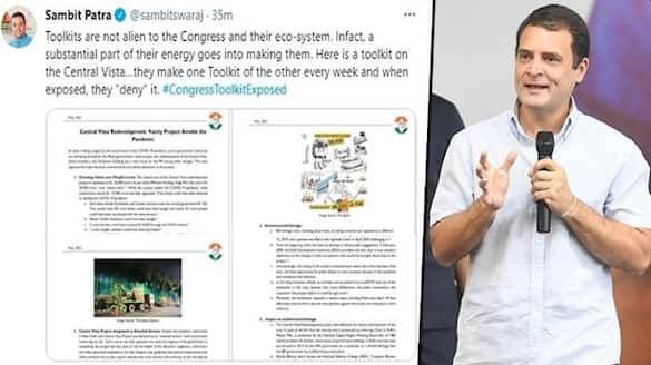 BJP shares Congress toolkit against PM Covid-VPN