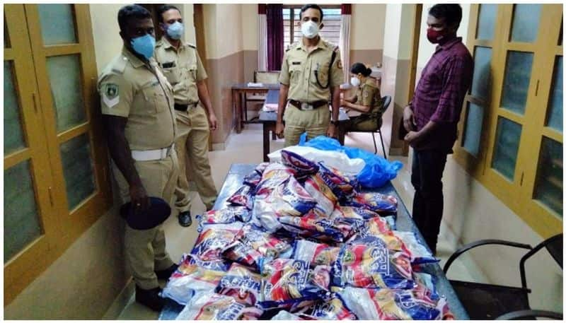 Prohibited tobacco products seized by police
