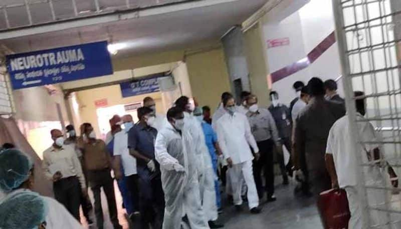 telangana cm kcr visits warangal central jail ksp