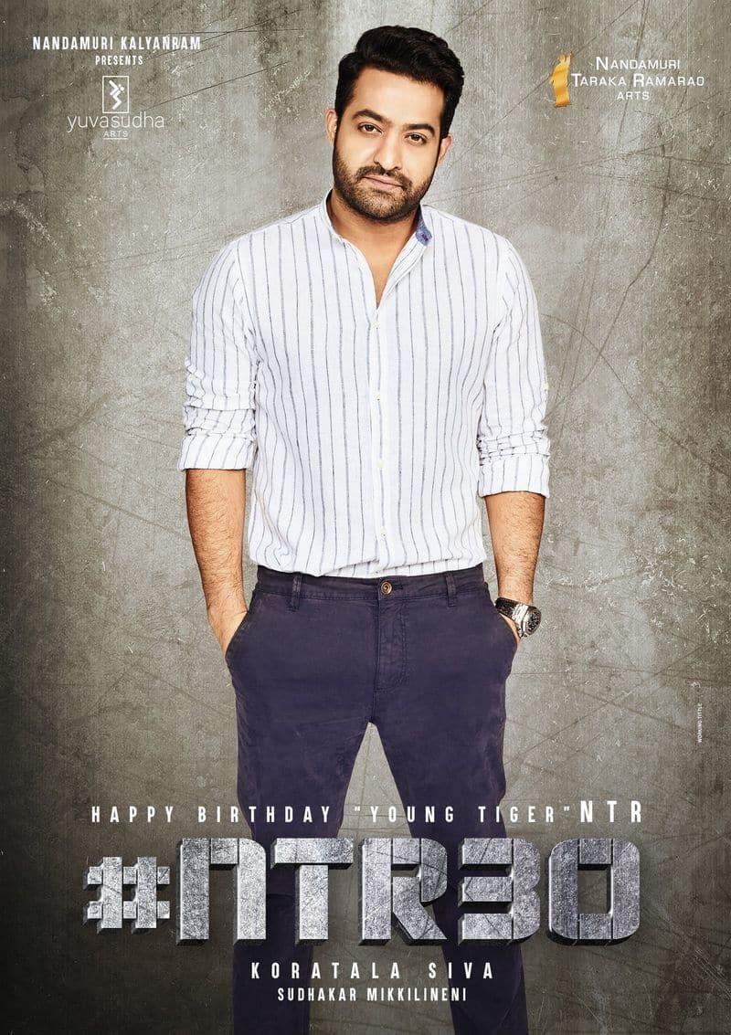 ntr looks smart and stylish is this his look in  koratala shiva movie ksr