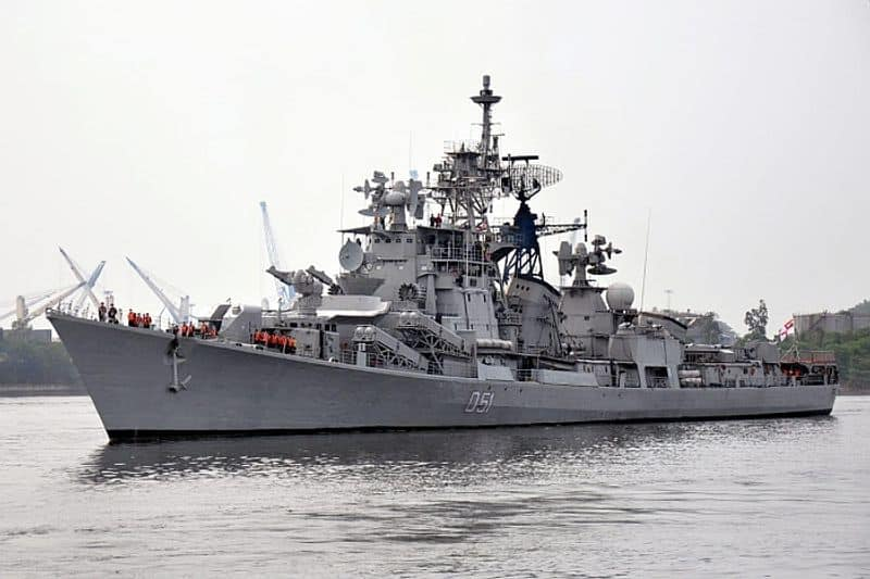 The Kashin-II class INS Rajput was was the first Indian naval ship to be affiliated with an Indian Army regiment -- the Rajput Regiment. INS Rajput, the first ship in the Indian Navy to deploy the BrahMos supersonic cruise missile system, was capable of handling threats from submarines, low-flying aircraft and cruise missiles.The ship has a displacement of 5,000 tonnes, a length of 146 metres, a beam of 15.8 metres and is capable of speed in excess of 30 knots.