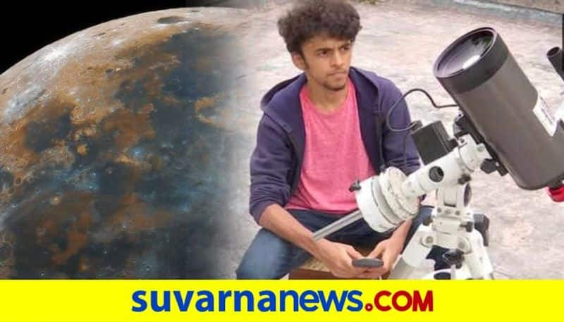 Pune teenagers clearest image of moon goes viral on social media dpl