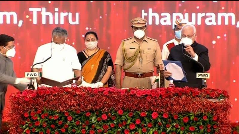 Pinarayi Vijayan  sworn in as Kerala CM lns