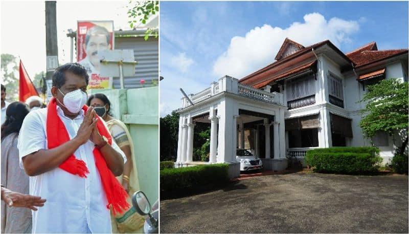 antony raju takes up manmohan bungalow as official residence