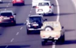 <p>UAE Road emergency lane</p>