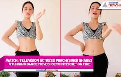 Watch: Television actress Prachi Singh shares stunning dance moves; sets internet on fire