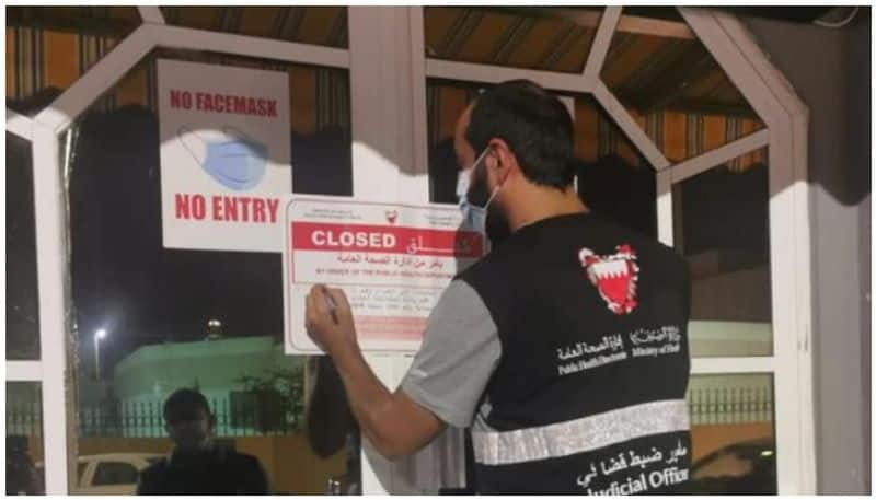 Five restaurants closed in bahrain for Covid violations