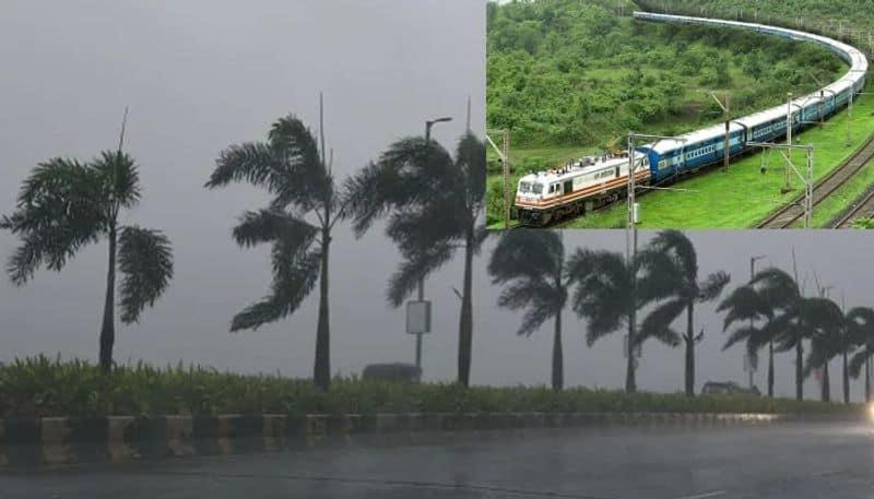 train cancel due to yaas cyclone bjc