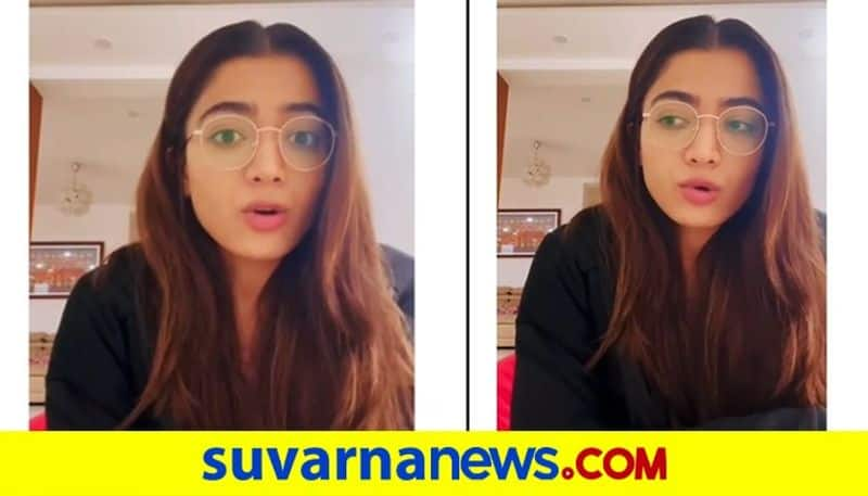 Rashmika Mandanna spreads the message of hope in her latest video vcs