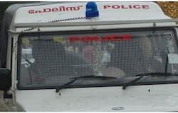 <p>police jeep</p>