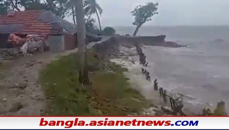another catastrophe after Yaas in west bengal with strong tidal surges in the district  bpsb