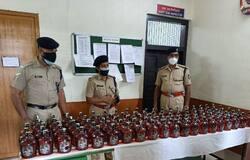 <p>Liquor seized</p>