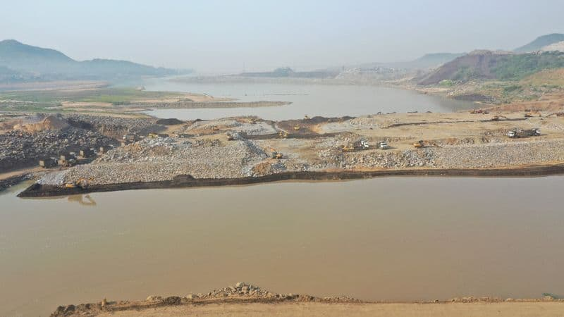 water releases to delta from polavaram spillway lns