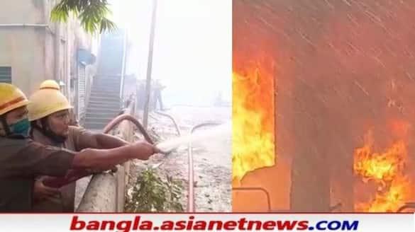 TMC MLA Madan Mitra's house in Bhabanipur caught fire bpsb