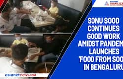 Sonu Sood continues good work amidst pandemic, launches 'Food From Sood' in Bengaluru