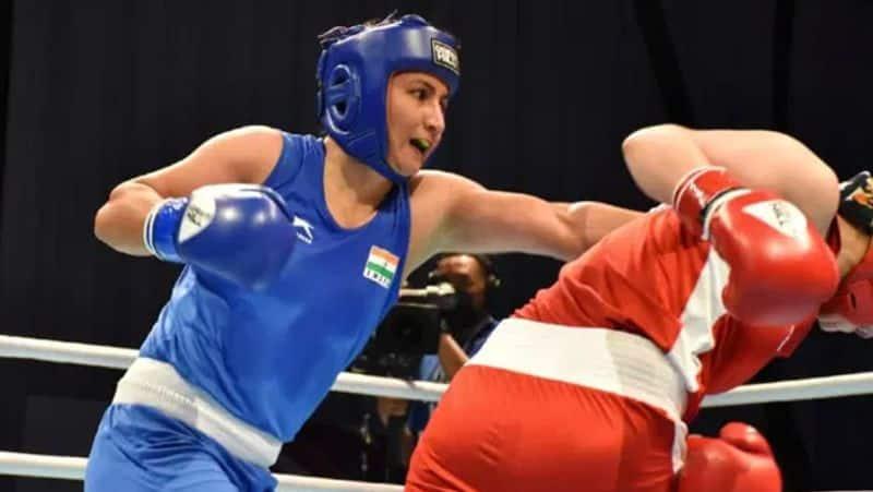Li quan defeat Pooja rani in quarter final of Women's middleweight boxing spb