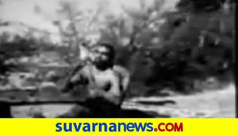 No this is not a rare video of young Narendra Modi doing Yoga pod