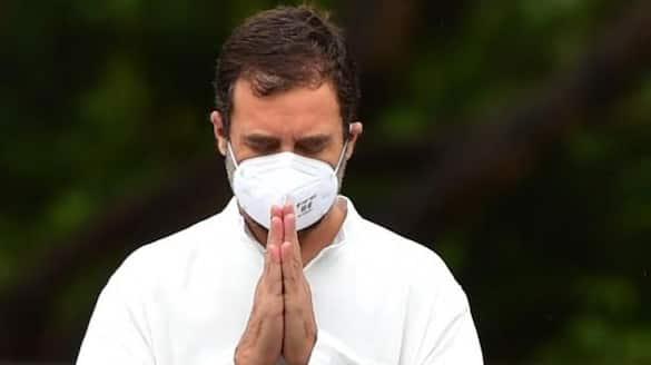 be self reliant for vaccine rahul gandhi mocks center for fight  over twitter bjp hits back bsm