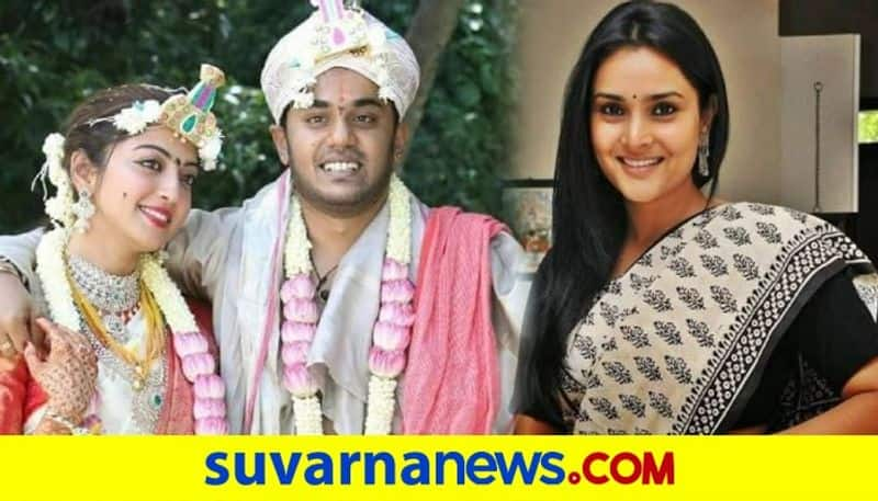 Netizens question about Ramya marriage after wishing Pranitha Subhash vcs