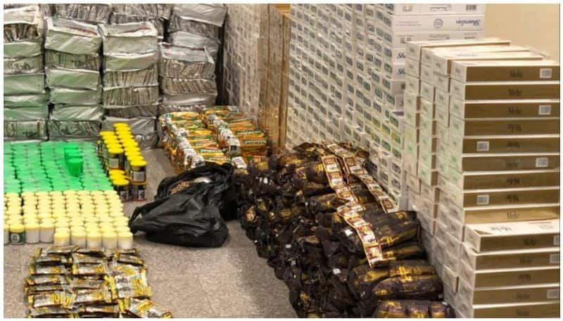 Expat arrested in oman with over 6000 boxes of cigarettes