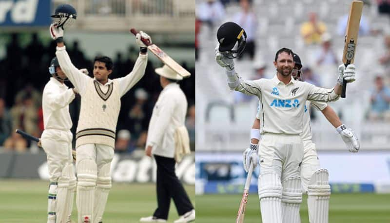 New Zealand's Devon Conway breaks Sourav Ganguly's record by scoring a century in his debut Test at Lords spb