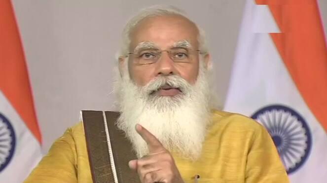 PM Modi adress Nation to Karnataka coronavirus News Hour video ckm