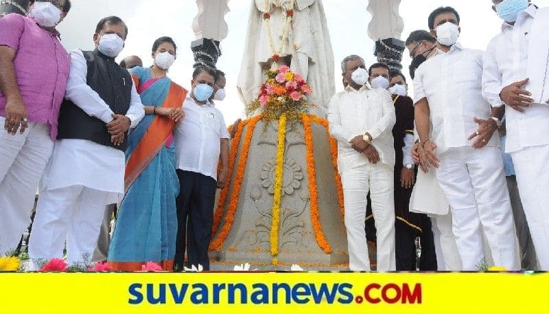 Minister St Somashekar Launches  Vaidyara Nadige Halli kadege programme in Mysuru snr