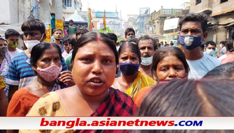 TMC goons allegedly vandalize a market in Kirnahar, Birbhum and rob poor   traders ALB