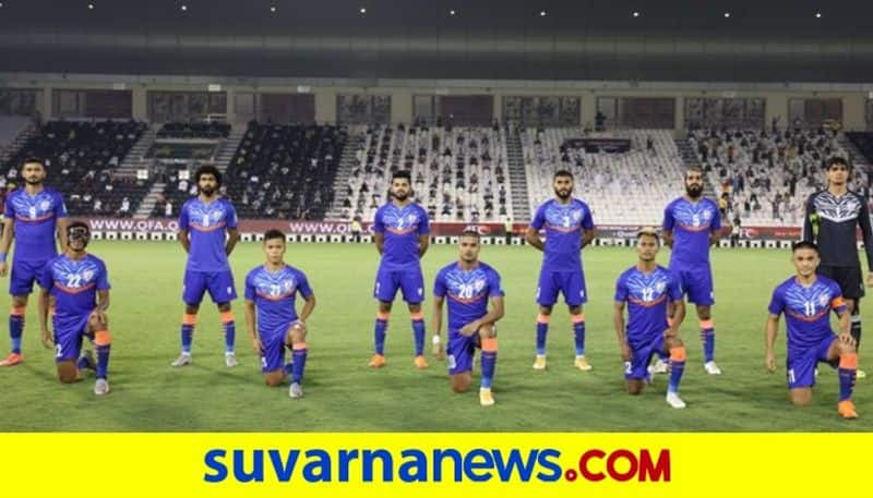 FIFA World Cup 2022 Qualifier 10 man Indian Football Team Lose to Qatar kvn
