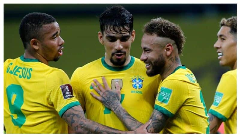 Neimar scores from penalty, Brazil beat Ecuador by 2-0 goals in Fifa World Cup qualifiers 2022 spb