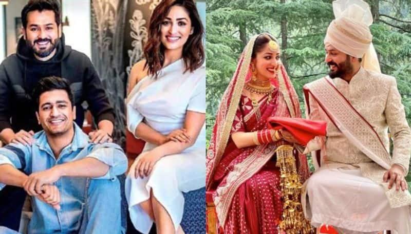 Vicky Kaushal Sends Wedding Wishes Uri Co-Star Yami Gautam And Director Aditya Dhar