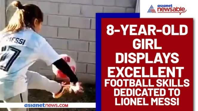 Watch 8-year-old Argentine girl display excellent football skills, Lionel Messi responds-ayh