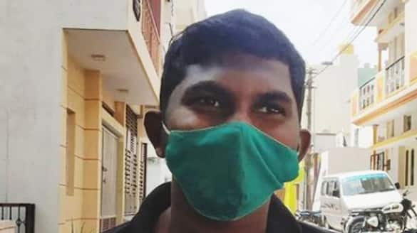 Bengaluru Swiggy food worker left with stitches on head after he refused to give free food ksp