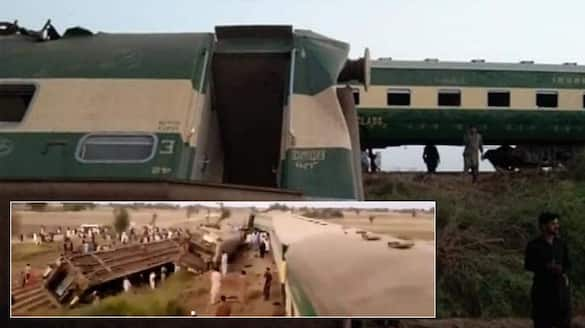 2 trains collide in Pakistan More than 30 killed 64 injured pod